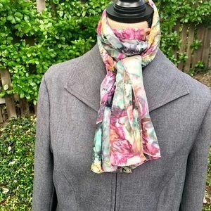 ⚜️ Multicolored Silk Scarf